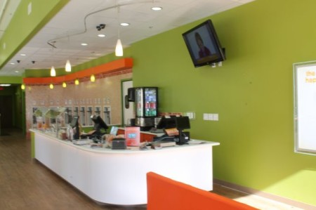 Orange Leaf, Market Square, Knoxville, March 2013