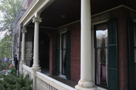 Porch at Historic Westwood, 3425 Kingston Pike, Knoxville, April 2013