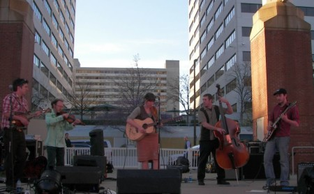 RhythmandBlooms, Robinella and the CC String Band, Knoxville, 2011