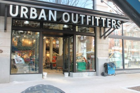 Urban Outfitters, Knoxville, March 2013