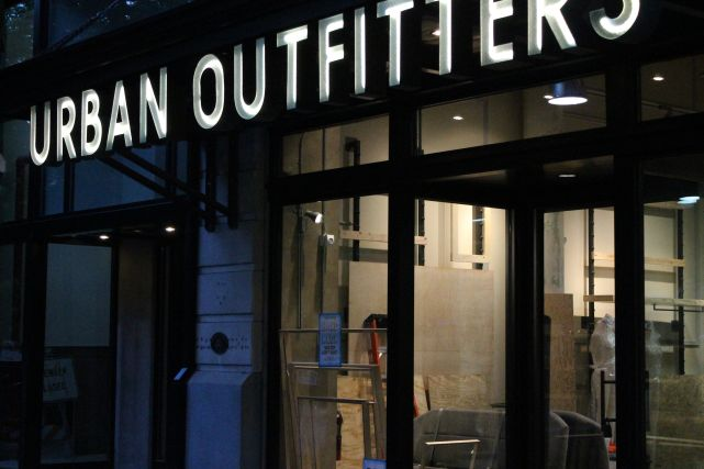 urban outfitters marketing mix