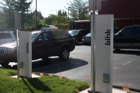 Charging Stations, Chesapeake's, Knoxville, May 2013