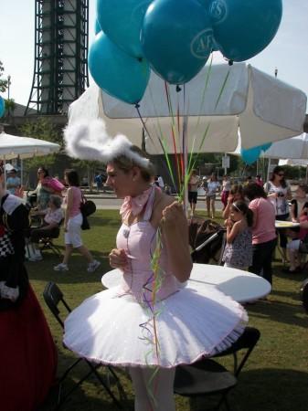Children's Festival of Reading, World's Fair Park, Knoxville, 2011