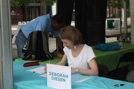 Deborah Diesen, Children's Festival of Reading, Knoxville, May 2013