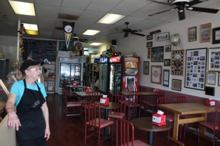 Donna Sullivan, Hot Bagel Company, Oak Ridge, May 2013