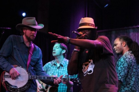 Gangstagrass, Square Room, Scruffy City Ramble, Knoxville, April 2013