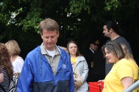 Mayor Burchett, Children's Festival of Reading, Knoxville, May 2013
