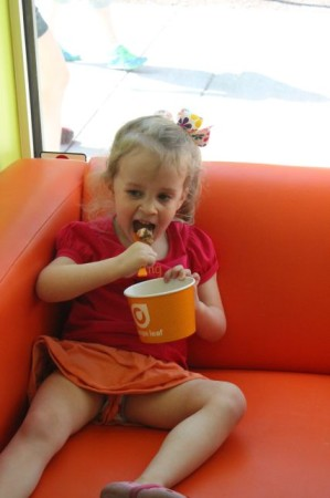 Orange Leaf Yogurt, 36 Market Square, Knoxville, May 2013
