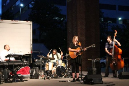 Robinella, Market Square Stage, Knoxville, May 2013