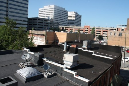 Rooftops at Kendrick Place, Knoxville, May 2013