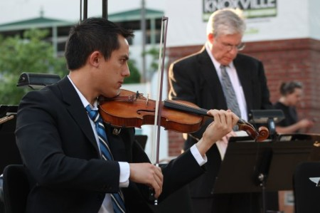 Thursday Night Market Square Concert Series, Knoxville Symphony Orchestra, Knoxville, May 2013