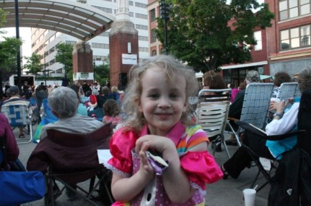 Urban Girl goes to the Symphony, Knoxville, May 2013