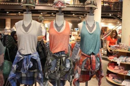 Urban Outfitters, Knoxville, May 2013