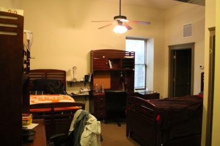 4 Market Square, 3rd Floor Dorm Rooms, Community Design Center, Knoxville, June 2013