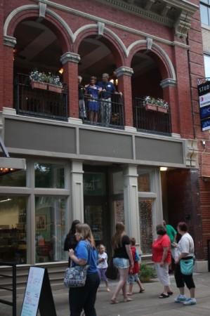 7 Market Square, Front View, Community Design Center Tour, Knoxville, June 2013