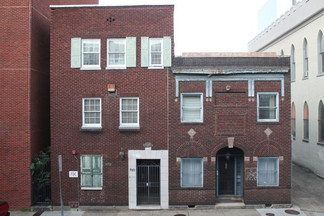 Protest Set to Oppose St. John's Episcopal's Demolition of 710 and 712 Walnut Street