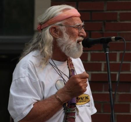 Bill Alexander, Bob Dylan Birthday Bash, Market Square, Knoxville, June 2013