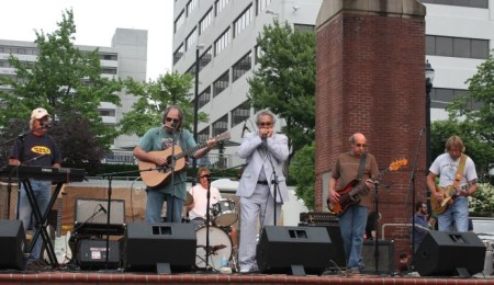 Dr. Sucks and the Mediocre Band, Bob Dylan Birthday Bash, Market Square, Knoxville, June 2013