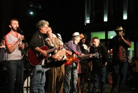 Finale, Bob Dylan Birthday Bash, Market Square, Knoxville, June 2013
