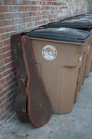 Guitar Case, Wall Avenue, Knoxville, Spring 2013