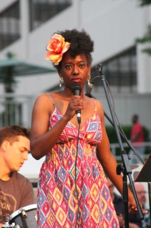 Kelle Jolly and the Will Boyd Project, Bob Dylan Birthday Bash, Market Square, Knoxville, June 2013