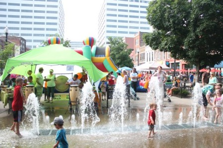 Knoxville's Largest Kid's Party, Market Square, May 2013