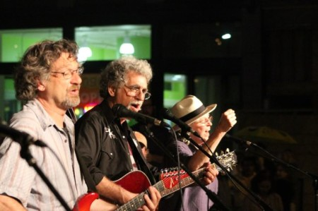 Lonesome Coyotes, Bob Dylan Birthday Bash, Market Square, Knoxville, June 2013