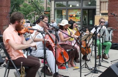 Norwegian Wood, Bob Dylan Birthday Bash, Market Square, Knoxville, June 2013