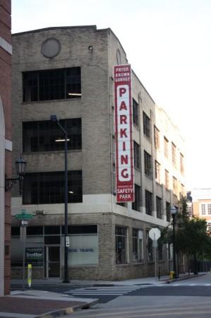 Pryor-Brown Parking Garage, Knoxville, June 2013