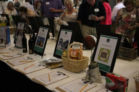 Silent Auction at the Community Design Center Fundraiser, Knoxville, June 2013
