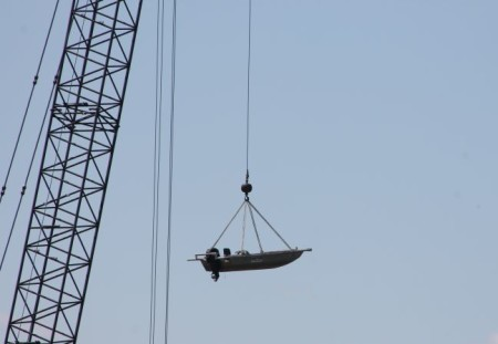 Suspended Boat, Knoxville, Spring 2013