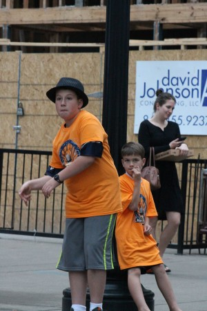 Young Dancer, Bob Dylan Birthday Bash, Market Square, Knoxville, June 2013
