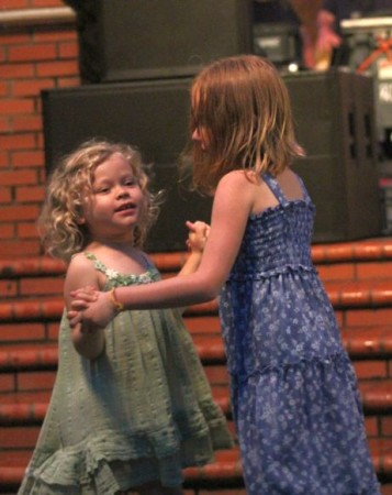 Young Dancers, Bob Dylan Birthday Bash, Market Square, Knoxville, June 2013