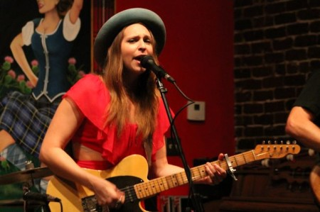 Angela Perley and the Howlin' Moons, Boyd's Jig and Reel, Knoxville, July 2013