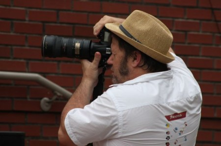 Bill Foster, Photographing the Bob Dylan Birthday Bash, Knoxville, June 2013