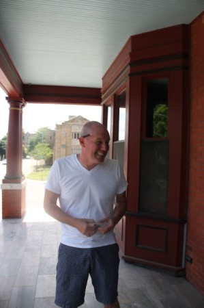 Brian Pittman, Mary Boyce Temple House, Hill Avenue, Knoxville, July 2013