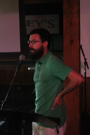 Calvin Chappelle, Pecha Kucha, Barley's, Knoxville, July 2013