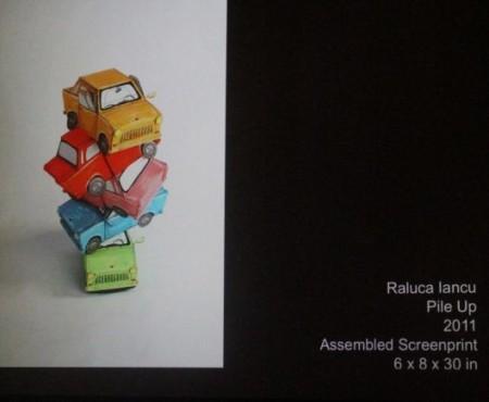 Deconstructivist art, Pecha Kucha, Barley's, Knoxville, July 2013