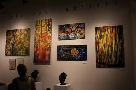 Dennis Sabo, Art Market, Knoxville First Friday, July 2013