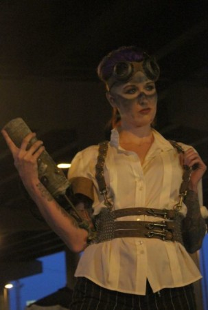 Fashion Show, Steampunk Carnivale, Knoxville, June 2013