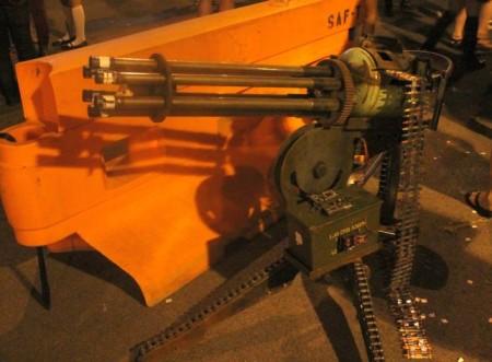 Gatlin Gun at the Steampunk Carnivale, Knoxville, June 2013