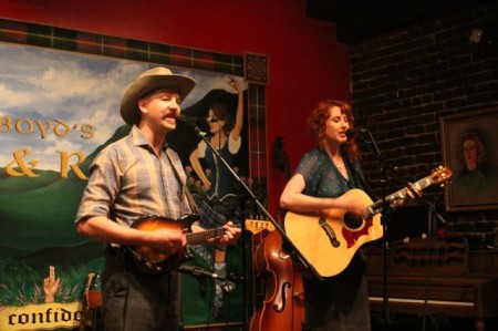 Grace Adele and Keenan Wade, Boyd's Jig and Reel, Knoxville, July 2013