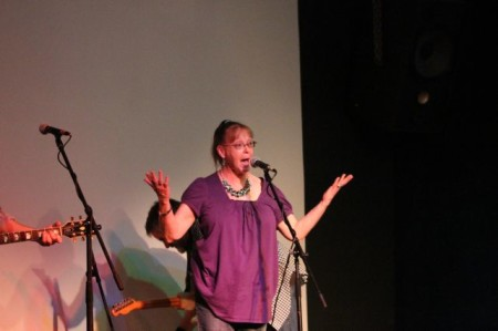 Grace from WDVX, Relix Theater, Knoxville, July 2013