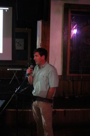 Mark Heinz presents at Pecha Kucha 8, Barley's, Knoxville, July 2013