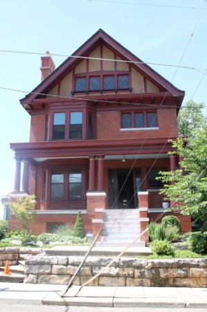 Mary Boyce Temple House2, Hill Avenue, Knoxville, July 2013