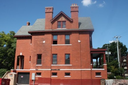 Mary Boyce Temple House, Hill Avenue, Knoxville, July 2013