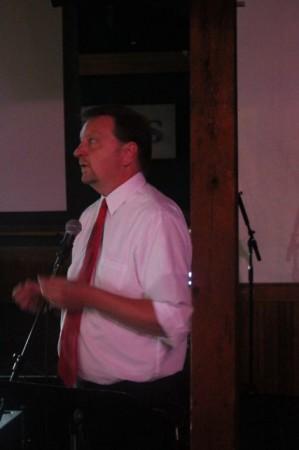 Matt Graves, Pecha Kucha, Barley's, Knoxville, July 2013
