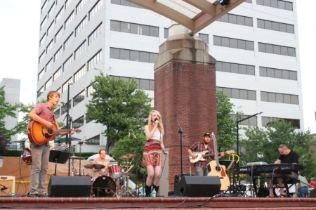Sam Hatmaker, Market Square Stage, Knoxville, Summer 2013