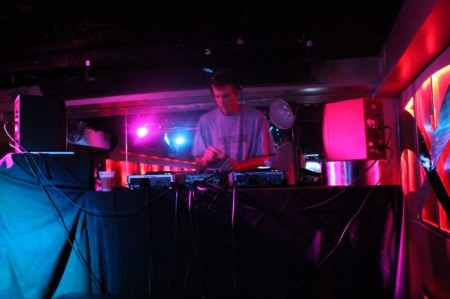 Techno music at Latitude 35, Knoxville, July 2013