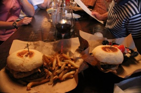 Burgers at the Stock and Barrel, Knoxville, August 2013